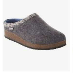 Women's L.L.Bean Wool Slipper Clogs 9